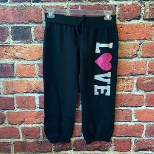 No boundaries Capri sweats